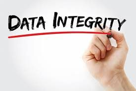 Verification, review, and check: approximation and implementation in terms of data integrity.